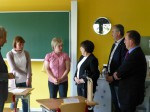Kultusministerin Kurth in Zettlitz - 3